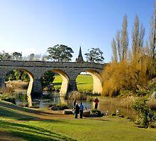 Richmond Bridge - Tasmania by Anthony Davey