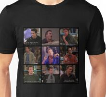 Chandler Bing Quotes Unisex T-Shirt