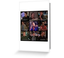 Chandler Bing Quotes Greeting Card