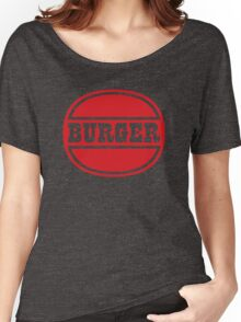 Classic Burger Logo Women's Relaxed Fit T-Shirt