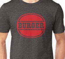 Classic Burger Logo Unisex T-Shirt