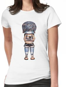 Smile Baby Photographer Womens Fitted T-Shirt