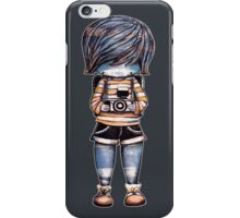 Smile Baby Photographer iPhone Case/Skin