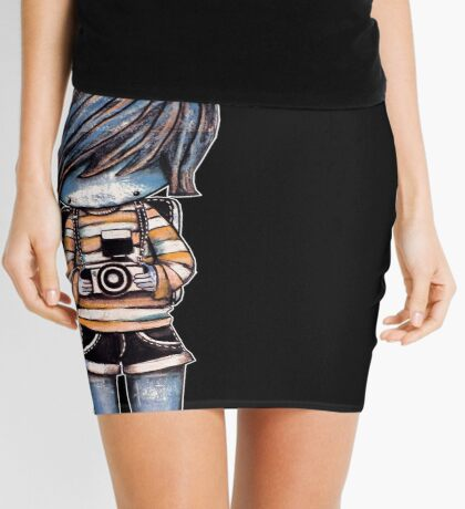 Smile Baby Photographer Mini Skirt