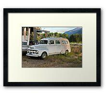 1951 Ford Ambulance Framed Print