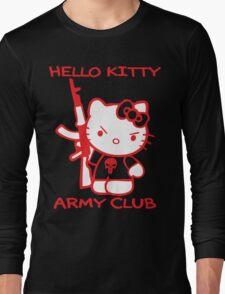 Hello Kitty Army Club Long Sleeve T-Shirt