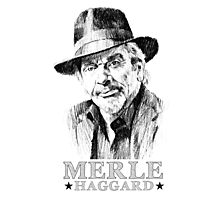 Country Man, Haggard Photographic Print
