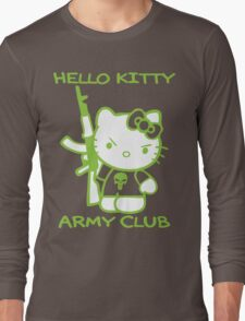 Hello Kitty Army Club Long Sleeve T-Shirt
