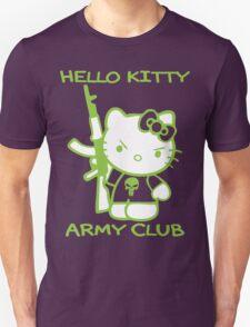Hello Kitty Army Club Unisex T-Shirt
