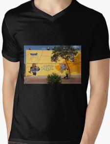 Public Wall Art & Graffiti Mens V-Neck T-Shirt