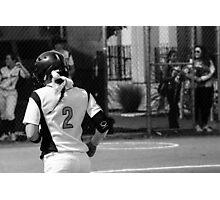 Softball Photographic Print