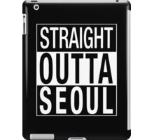 straight outta seoul iPad Case/Skin