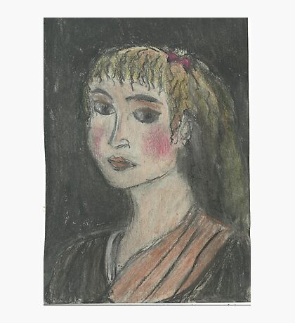 Head Of A Girl(After Rubens) Photographic Print