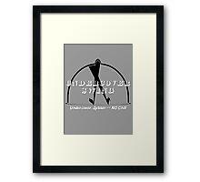 Undercover Swing Framed Print