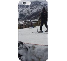 Snowboarding in Italy iPhone Case/Skin
