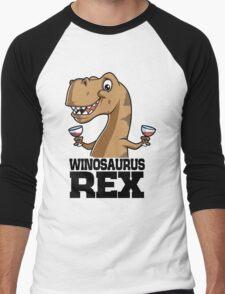 Winosaurus Rex Men's Baseball ¾ T-Shirt