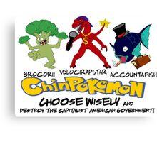Chinpokomon starters Canvas Print