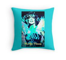 Marilyn By The Sea Throw Pillow