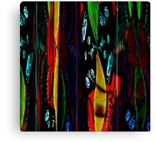 Abstract lost skulls Canvas Print