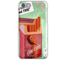 Lung Candy Smokes iPhone Case/Skin