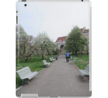 hidden park in Prague iPad Case/Skin