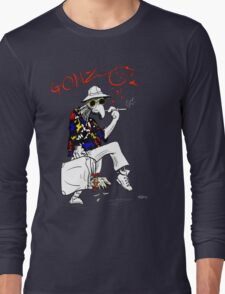 Gonzo- Fear and Loathing in Las Vegas parody Long Sleeve T-Shirt