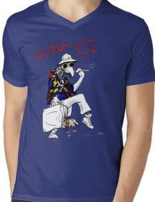 Gonzo- Fear and Loathing in Las Vegas parody Mens V-Neck T-Shirt