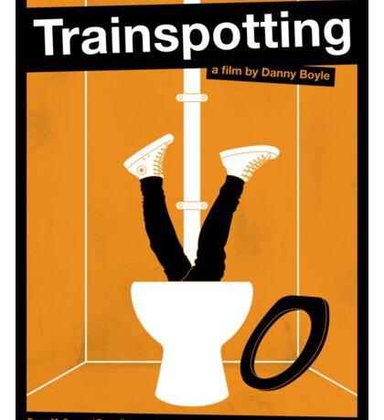 Trainspotting film poster Sticker