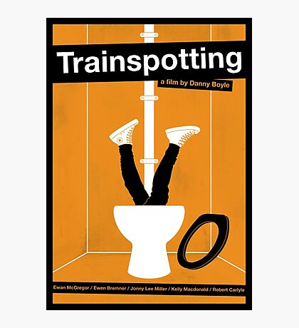 Trainspotting film poster Photographic Print