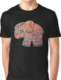 Vintage Elephant TShirt Graphic T-Shirt