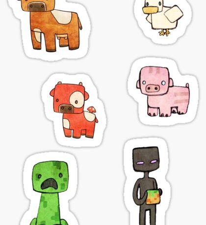 Minefriends Sticker