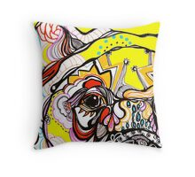 bears eye Throw Pillow