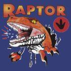 Ghost World raptor by faradaysings