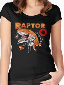Ghost World raptor Women's Fitted Scoop T-Shirt