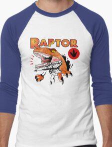 Ghost World raptor Men's Baseball ¾ T-Shirt