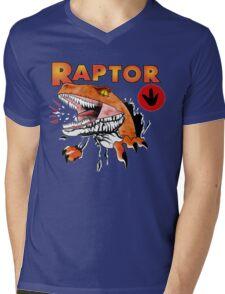 Ghost World raptor Mens V-Neck T-Shirt