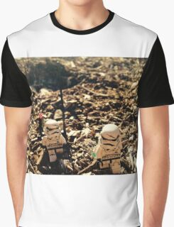 Lego Star Wars Stranded Stormtroopers Minifigure  Graphic T-Shirt