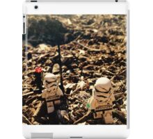 Lego Star Wars Stranded Stormtroopers Minifigure  iPad Case/Skin
