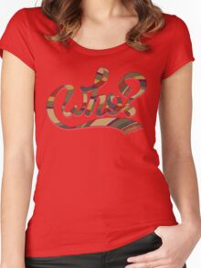 Who? Women's Fitted Scoop T-Shirt