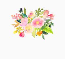 Floral Watercolor, Spring Bouquet Unisex T-Shirt