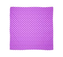 Purple Polka Dots Scarf