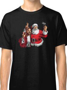 Jesus Santa Selfie Classic T-Shirt