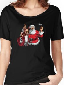 Jesus Santa Selfie Women's Relaxed Fit T-Shirt