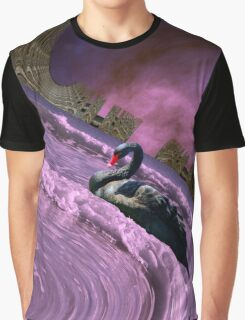 Ride the big waves with calm serenity Graphic T-Shirt