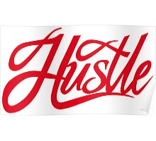 Hustle Torn - Red Poster