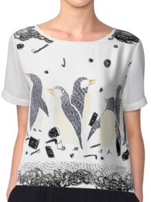 The Gifts To Penguins Chiffon Top