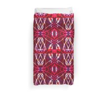 Sewing Box Abstract Monoprint  Pattern Original Colour Duvet Cover