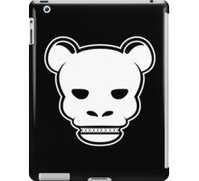 YG Bear Skull Black iPad Case/Skin