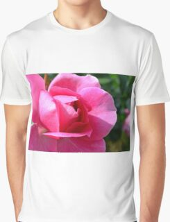 Pink rose in the garden. Graphic T-Shirt