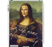 In The Name Of Beauty iPad Case/Skin